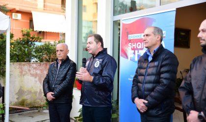Idrizi në Lushnje: Shqiptarët në krizë të rëndë ekonomike. Do të ulim taksat, nxisim prodhimin vendas
